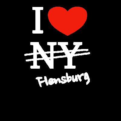 I love Flensburg -  - Flensburg,Love,Loved