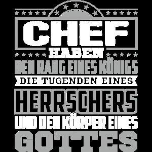 CHEF -Gott