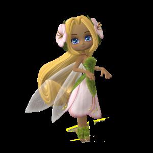 Elfe Fee Mädchen Fabelfigur