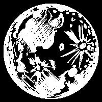 Mond Planet Sterne Sonnensystem Universum Geschenk