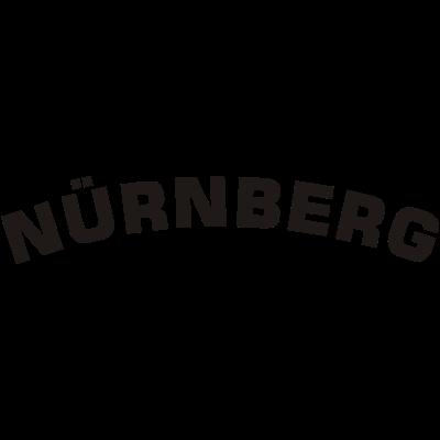Nürnberg. - Schriftzug Nürnberg. Das Motiv für echte Nürnberger! - verein,nuernberg,fußball,Nürnberger,Franken