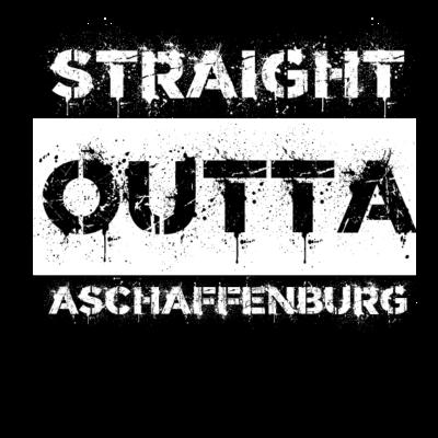Straight Outta Aschaffenburg Geschenk Stadt - Wie wäre Straight Outta Aschaffenburg als Geschenkidee zum Geburtstag deiner Freunde? Als Geschenk auch für Kinder, alle die ihre Heimat lieben und Jugendliche passend! - i love,i heart,Straight,Stadt,Sonderangebot,Outta,Jugendliche,Idee,Heimat,Geschenkidee,Geschenk,Geburtstagsgeschenk,Bayern,Aschaffenburg