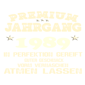 1989 In Perfektion gereift