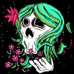 Nature Skull Girl