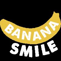 Bananenlächeln