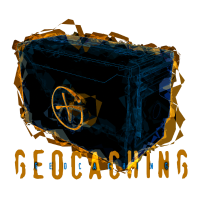 Geocaching Ammobox für dunkle Shirts