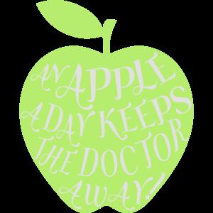 Ein Apfel am Tag