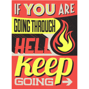 Durch die Hölle gehen