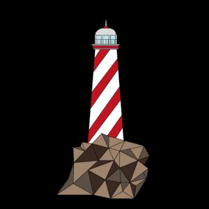 Leuchtturm dünn # 1