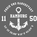 Freie und Hansestadt Hamburg 1150 weiss