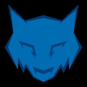 Blauer Wolf Abzeichen