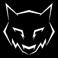 Schwarzes Wolfsabzeichen