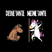 Einhorn Pferd Meine Tante Geschenk Liebe Beste