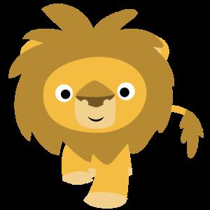 Freundlicher Löwe von Cheerful Madness!!