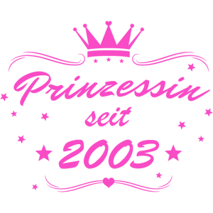 Prinzessin seit 2003 Rosa