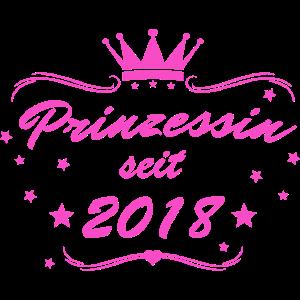 Prinzessin seit 2018 pink