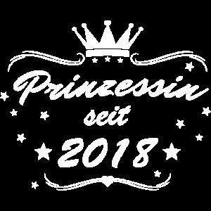 Prinzessin seit 2018 Weiß
