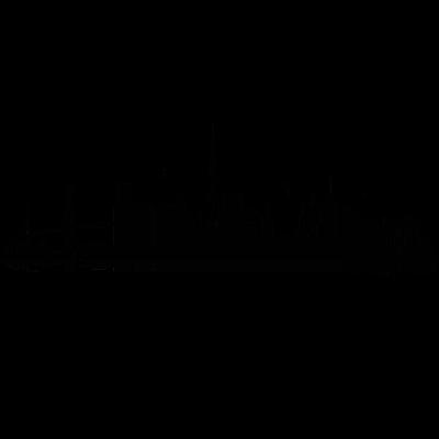 Hamburg 05 - Hamburg Skyline -  auf verschiedenen Produkten erhältlich. Verändern Sie die Größe oder Position des Motives nach ihren Wünschen. Wählen Sie Größe und Farbe Ihres Produktes. - urban,stadtbild,stadt,skyline,silhuette,illustration,hamburgerin,gebäude,design,city,architektur,altona,Wandsbek,Stadtshirt,St Pauli,Silhouette,Harburg,Hansestadt,Hamburger,Hamburg,Geschenk,Eppendorf,Elbe,Eimsbüttel,Barmbek