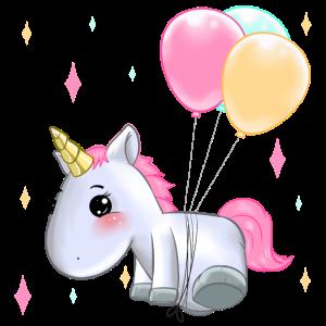 Einhorn Ballons