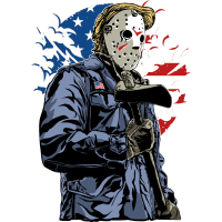 HORROR MÖRDER - American Halloween Geschenk Motiv