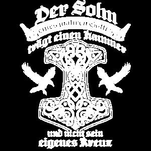 Germane Glaube Sprüche Gott Heide Hammer Geschenk