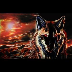 wolf fraktal