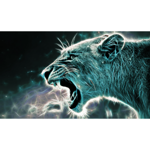 Löwin Fraktal