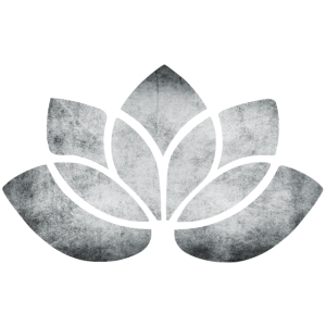 yoga lotus blume silber