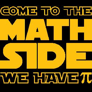 Komme auf die Matheseite .... wir haben Pi