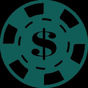 Casino-Münze