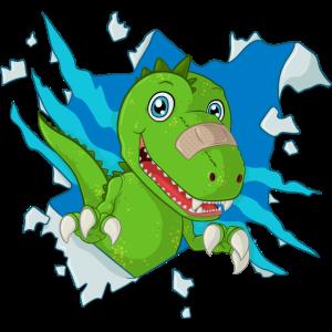 Süßer Dinosaurier