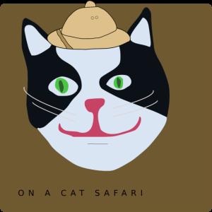 Es ist eine Katze, Safari