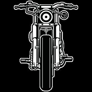Motorrad / Motorcycle 03_schwarz weiß