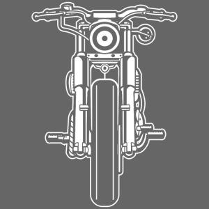 Motorrad Motorcycle 03_weiß