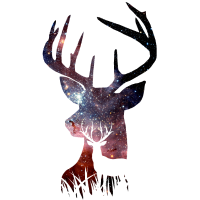 Hirsch Galaxie Nebel