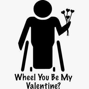 Rolstoel valentijn