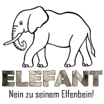 Elefant - Nein zu seinem Elfenbein