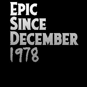 EPIC SINCE DECEMBER 1978 - Geburtstags Logo