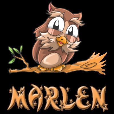 Eule Marlen - Marlen Eulen Design für Marlen. - Marlen süss,Marlen Geschenke,Marlen Geschenk,Marlen Geburtstagsgeschenk,Marlen Geburtstag,Marlen Geburt,Marlen Eulen,Marlen Eule,Marlen