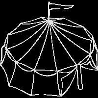 Rundes Zelt