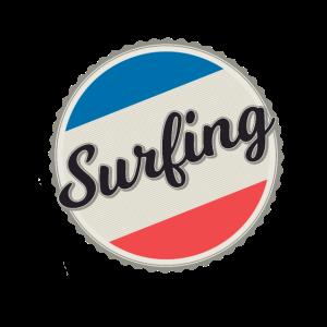 surfing, surfen,Geschenk