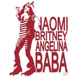 Naomi Brizney Angelina Baba mit Halbakt
