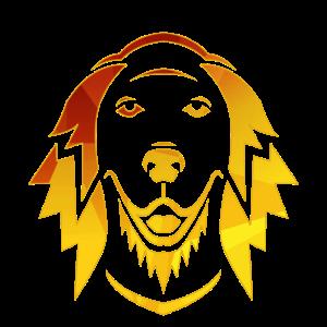 DOG GOLDEN RETRIEVER Geometric