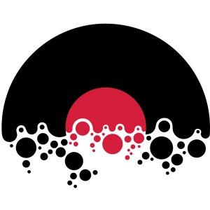 Vinyl Schallplatte bubbles