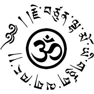 Om tibétain