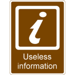 Useless Information Large