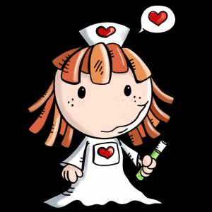 Liebe Krankenschwester - Herz - Niedlich - Beruf