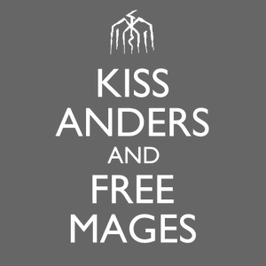 Kiss Anders and Free Mages Design