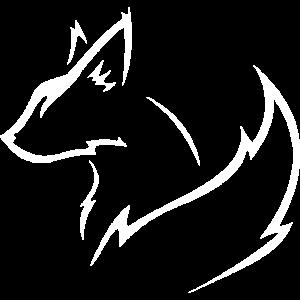 weißer Fuchs