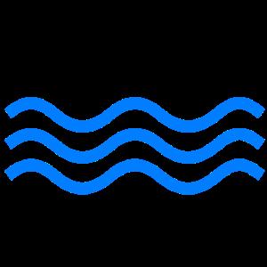 Wasser blau H2O Wellen Meer